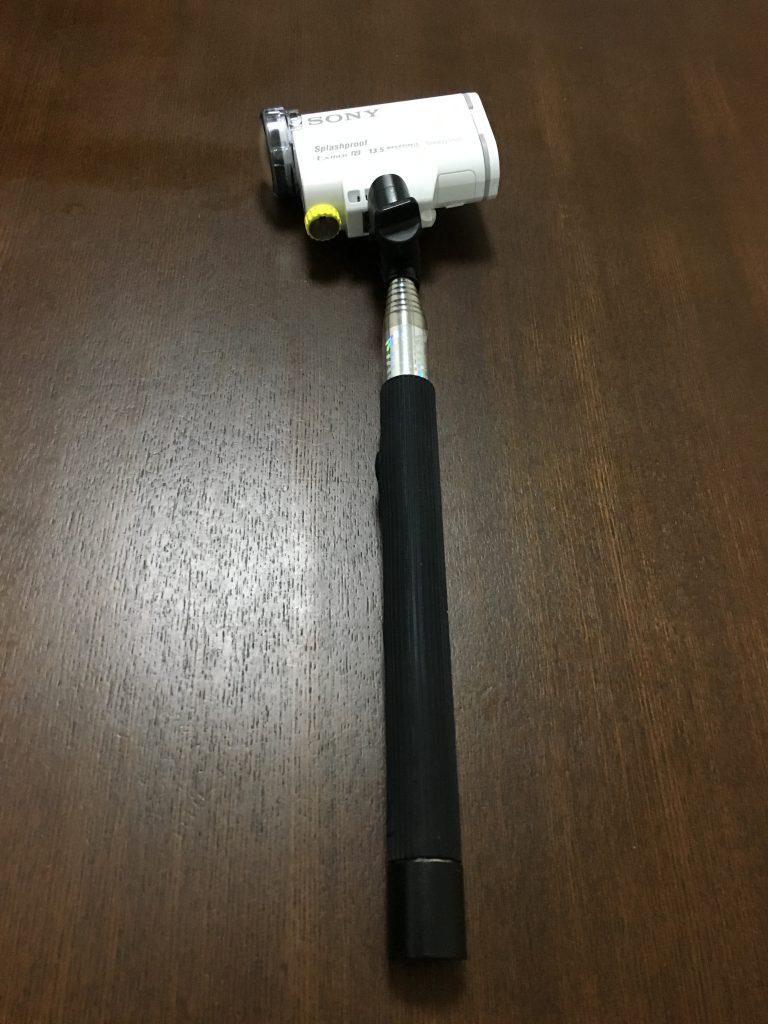自撮り棒 monopod
