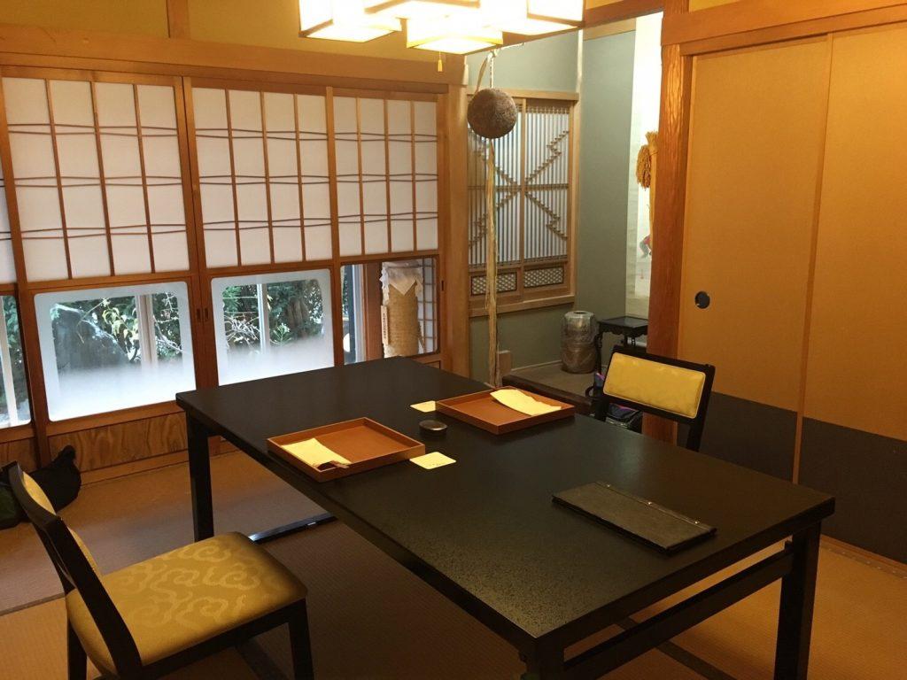 日本料理しのはら 個室