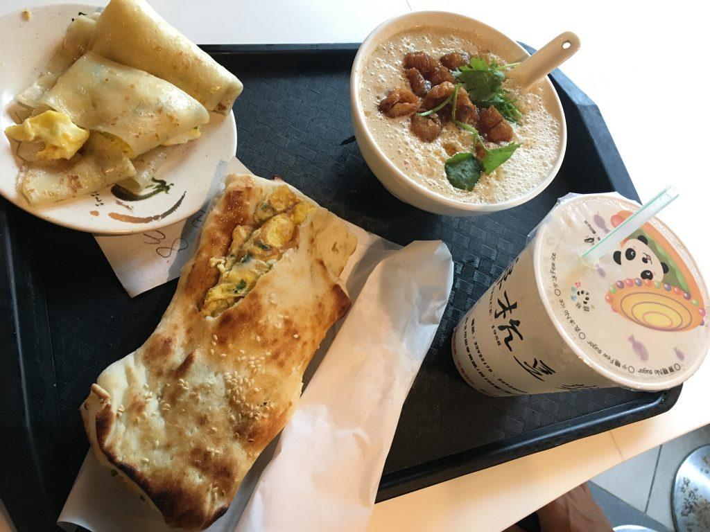 阜杭豆漿 台北 朝食